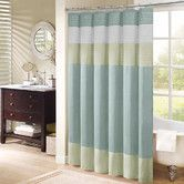 Found it at Wayfair - Carter Polyester Shower Curtain