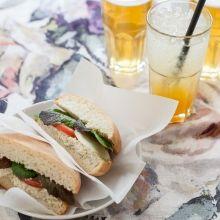 Veganes Thonmousse Sandwich