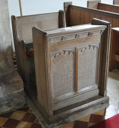 https://flic.kr/p/cZBS91 | Great Rissington St John The Baptist-207 Reading desk at east end of nave |  Places to visit in and around Stratford: Great Rissington  Great Rissington is lost amongst a maze of narrow lanes on the hillside above Bourton-on-the-Water. Though only a mile or two from the hustle and bustle of Bourton Great Rissington attracts few visitors and is a haven of peace and quiet. A sprawling village of Cotswold stone the houses cascade down the hillside barely reaching the…