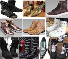 Cool Men Gothic Punk Military Fashion Shoes Boots -- for a personalized and outstanding HE! www.liquiwork.com