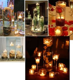 y submerged flower centerpieces - Google Search
