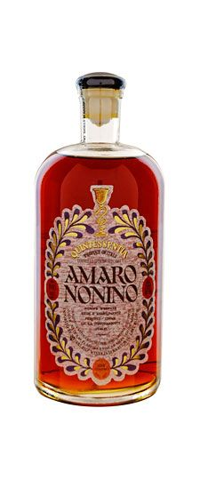 This amaro is a grape distillate infused with herbs and aged in barrique, the Quinessentia Amaro Nonino shows fragrant mountain herbs. It's delicious as an aperitivo served with a slice of orange or on its own as a digestivo.