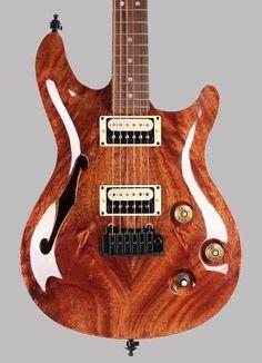 Warmoth Showcase VIP 6 String Guitar Assembled by Halo Custom Guitars Gibson Pup