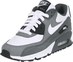 Nike Air Max 90 Youth GS Shoes grey white