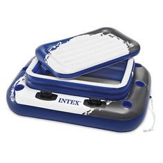 MEGA CHILL 2 EXTRA LARGE FLOATING COOLER The Mega Chill II Inflatable Cooler is a reliable way to keep your food and drinks cool during your swimming adventures. Bring this durable, inflatable cooler
