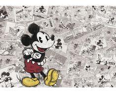 Fototapete 2883 P4 Papier Mickey Mouse Comic 254 x 184 cm