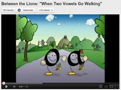 vowel teams video along with SO many more from You Tube! Could be used small group or whole group on Smartboard.