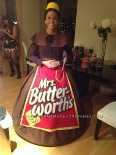 """Who Does a """"Butter"""" Homemade Costume than Mrs. Butterworth?... Coolest Homemade Costumes"""