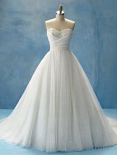 Wedding Dress Option 4 (this is my favourite of the Disney line, inspired by Cinderella)