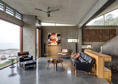Дом на берегу океана от INDYK Architects