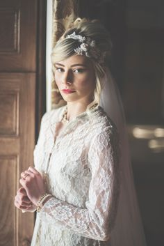 Taylor + Bailey - Wildflower Weddings Fusion Design, Just The Way, Frocks, Wild Flowers, Gowns, Wedding Dresses, Lace, Pretty, Model