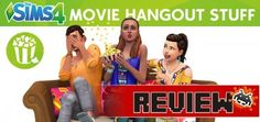 My review of the Sims 4 Movie Hangout Stuff
