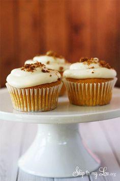 Pumpkin ale cupcakes. The best fall dessert treat idea ever! A family favorite recipe.