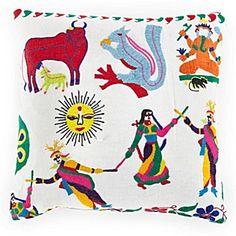 Indian Tent Top Pillow 3