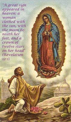 Prayer: Lord Jesus, you continue the miracles of the past and turn death into life. Through Our Lady of Guadalupe may we spread that hope everywhere. Amen.