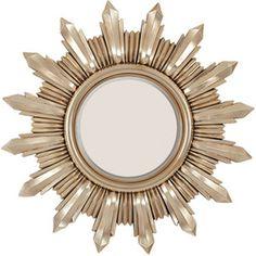 Alpine Art and Mirror Sun Burst Wall Mirror