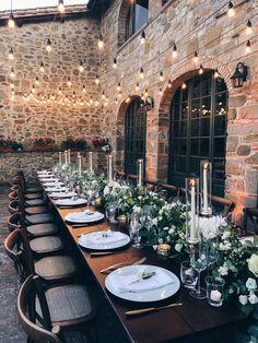 Wedding at Villa Olimpia, Tuscany. Wedding Goals, Wedding Themes, Wedding Planning, Wedding Decorations, Table Decorations, Wedding Dresses, Wedding Table, Wedding Reception, Our Wedding