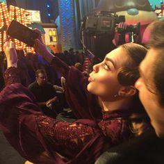 @johngreenwritesbooks - instagram: Cara taking a selfie while Nat photobombs. John Green Books, Paper Towns, Cara Delevingne, Take That, Journey, Selfie, Concert, Kidney Infection, Instagram