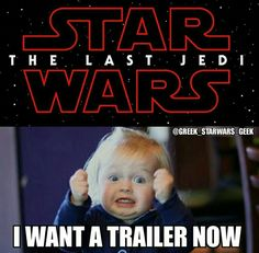 YESSSS I WANT A TRAILER!!!