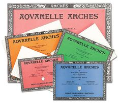 Arches Aquarelle Watercolor Paper Blocks are an indispensable painting surface for any watercolor artist!