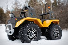 Grizzly Robotic Utility Vehicle!  Perfect for just picking up the groceries!