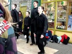 Boys Irish dancing in the streets of Galway, Ireland, so fun! March 16, 2013