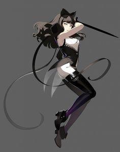 Beautiful Blake Belladonna #blake #cosplay #costume #anime #rwby