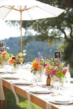 Garden Wedding Details.