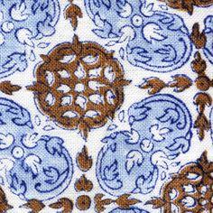 Mandu Vista Handprinted Linens Fabric