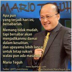 Kata Bijak Mario Teguh yang Sangat Menginspirasi