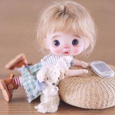 Crazy Girl Quotes, Crazy Girls, Cute Baby Dolls, Cute Babies, Tiny Dolls, Minnie, Custom Dolls, Vintage Dolls, Blythe Dolls