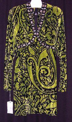 Evening dress, fall/winter 1991-92, James Galanos, American