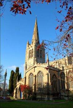 Oakham Church by Baz Richardson, via Flickr