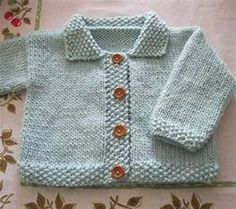 free easy knitting patterns for babies | Crochet and Knit
