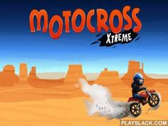 Motocross: Xtreme  Android Game - playslack.com , an awesome game, where you will drive on a motorcycle on a cross-country tract with different obstacles.