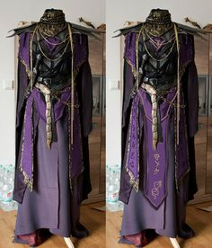 thatd be great for a rly powerful spellcaster Larp, Elfa, Fantasy Dress, Fantasy Outfits, Fantasy Costumes, Character Outfits, Looks Cool, Costume Design, Fancy