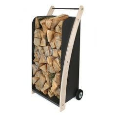 Useful cart for fireplace wood. It is fine equipment for every house and garden. Made by Neo-Spiro.