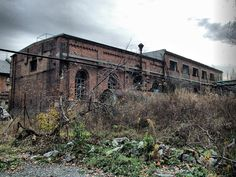 Old mine in Rybnik-Niewiadom, PL Brooklyn Bridge, Abandoned, Industrial, Travel, Left Out, Viajes, Industrial Music, Destinations, Traveling