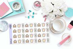 KAWAII STICKER SHOPPING Paper Planner Stickers!