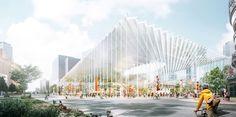 Stewart Hollenstein Envision New Cultural Spine for Shanghai