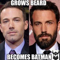 e85dfb6137ef0c55940620d54ec1dbc4 beard maintenance beard humor which one will you be? choose wisely and beardresponsibly beard,Beard Vs No Beard Meme