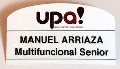 #MultiBrandCompany #Piochas #NameBadges #UPA!