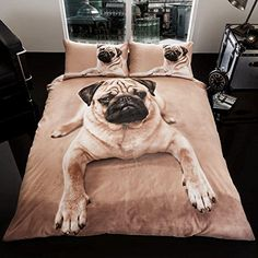 Pug Puppy Double/US Full Duvet Cover and Pillowcase Set Pug Puppy http://www.amazon.com/dp/B0195FQA7M/ref=cm_sw_r_pi_dp_OHHTwb0Q4TV8V
