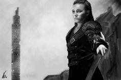 My artwork of commander Lexa