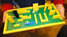 make a lego maze