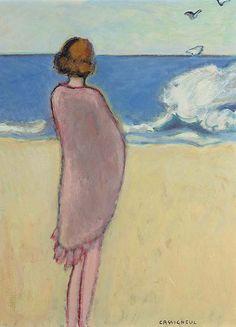 Jean-Pierre Cassigneul (French, b.1935) La vague (The wave), 1969. Oil on canvas