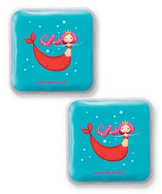 Loving this Mermaid Ice Pack - Set of Two on #zulily! #zulilyfinds