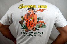 Vintage 1980s Fred Flintstone Grateful Dead Grateful by RogueRetro