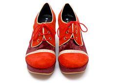 Luz Principe (Argentina) shoes, called Iñaki.