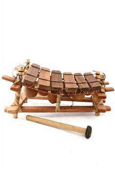 African handmade instruments.
